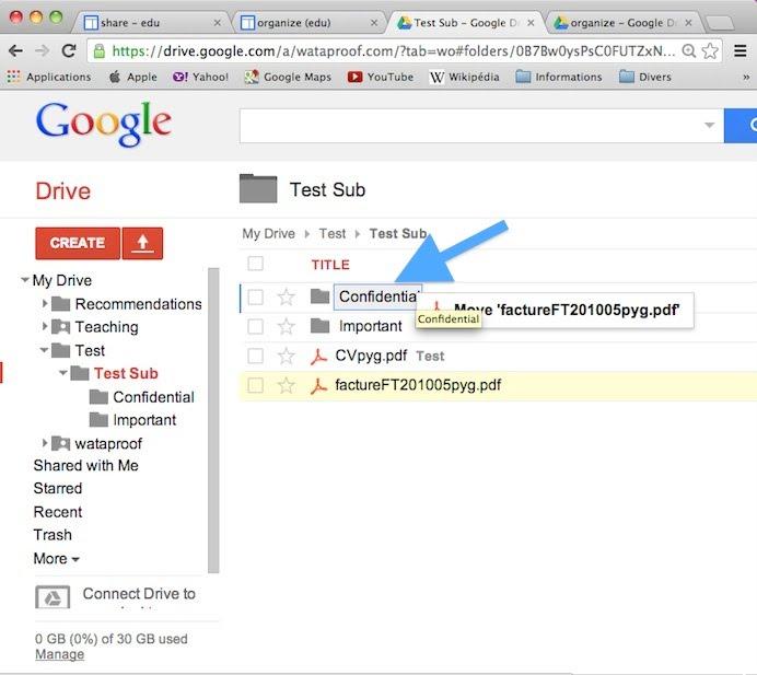 edu.wataproof.com/google/organize/organizeDragFactureMoveConfidential.jpg